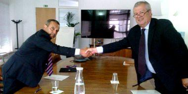 Assinatura do Contrato de Delegação de Competências no âmbito do Programa de Formação-Acção